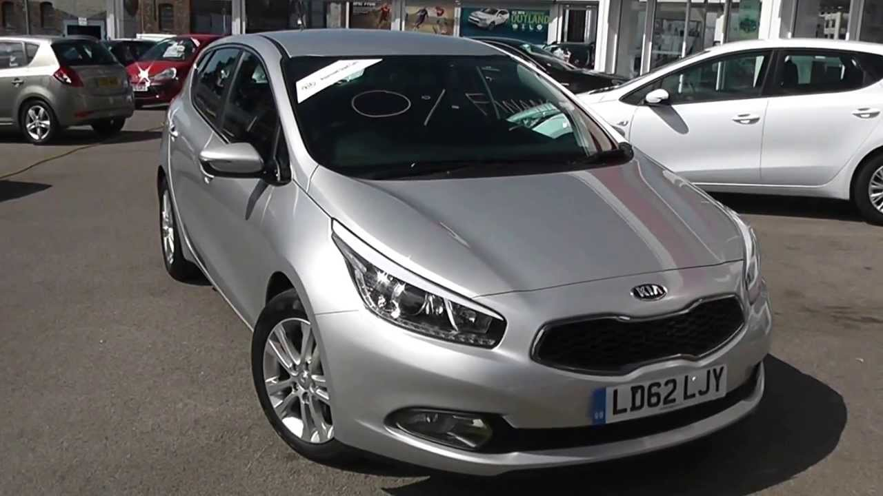 Kia Approved Used Car Kia Ceed 2 Eco Silver Ld62ljy