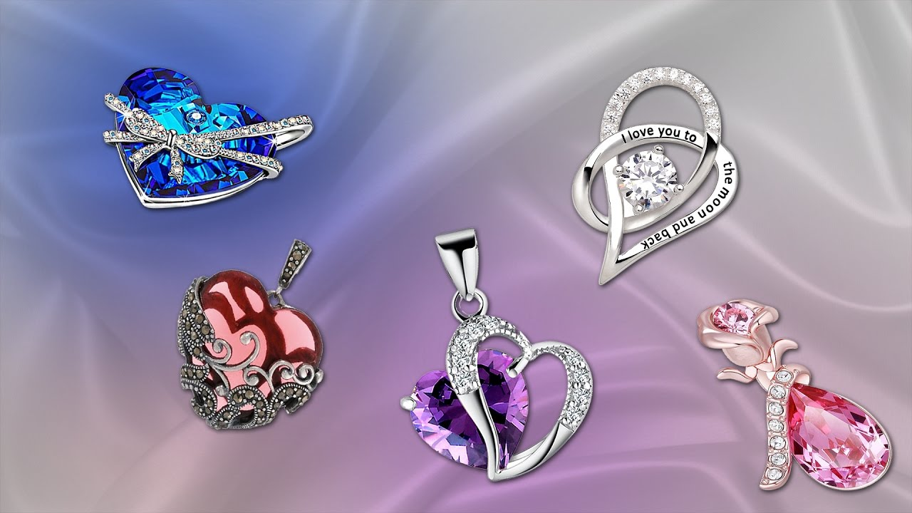Fesselnd 5 Best Romantic Valentines Jewelry For Her | Best Valentineu0027s Day Gift  Ideas For Her   YouTube