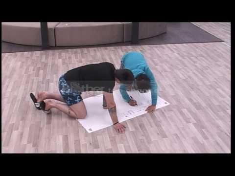 Kei dhe Damiano përgatiten për grevë urie - Big Brother Albania 9