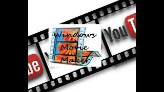 как сделать надписи в видео movie maker