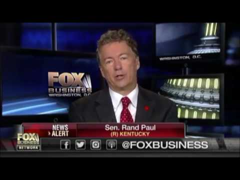 Democrats are being Pathetic and Whiny   Rand Paul