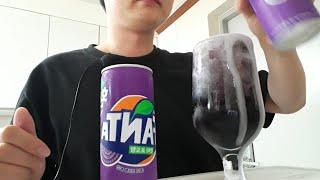 얼음동동 환타 포도맛 음료수 먹방 fanta grape…