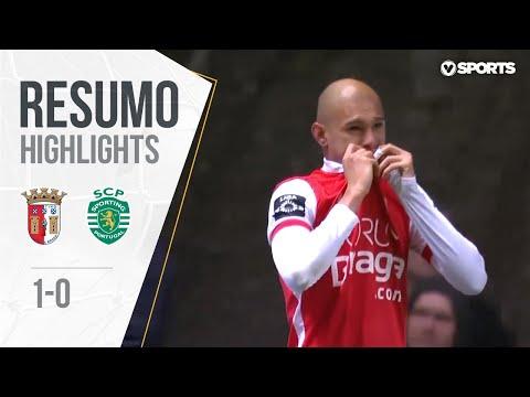 Sp. Braga 1-0 Sporting (Liga 28ª J): Resumo