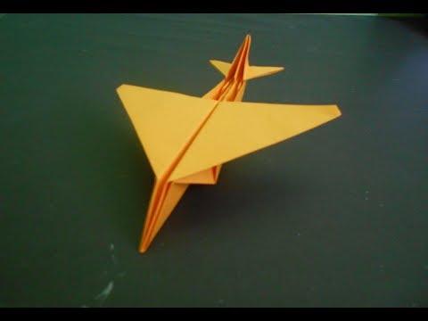 Origami Pesawat - Cara Membuat Pesawat Kertas Kargo Yang Keren - Origami Paper