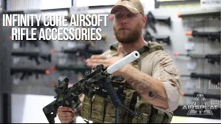 infinity core airsoft rifle accessories airsplat on demand