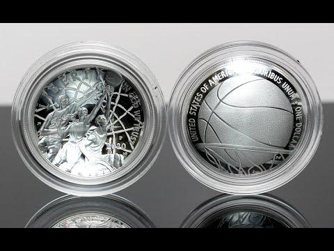 Coin News: 2020 Naismith Basketball Hall Of Fame Silver Proof Coin