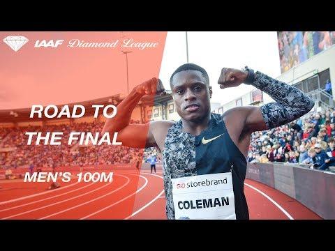 Road To The Final 2019: Men's 100m - IAAF Diamond League