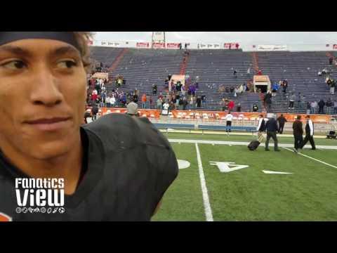 Josh Reynolds speaks on Texas A&M, Myles Garrett & 2017 Senior Bowl