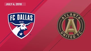 Western conference leading fc dallas looks to stay undefeated at home as they host the ever-threatening and league-leading atlanta united fc.starting lineups...