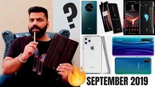 Top Upcoming Smartphones - September 2019🔥🔥🔥