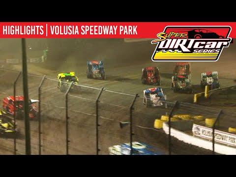 Super DIRTcar Series Big Block Modifieds Volusia Speedway Park February 11th, 2020 | HIGHLIGHTS
