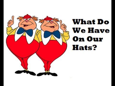 Mandela Effect Alice In WonderlandWhat Did Tweedle Dee & Dumb Have On Their Hats? #159