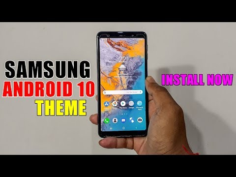 Samsung Android 10 Theme For All Samsung Devices | How To Download Paid Theme FREE !!