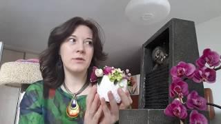 Цветы из ГЛИНЫ Холодный фарфор ❤️ КЕРАМИЧЕСКАЯ ФЛОРИСТИКА ❤️ RusLanaSolo