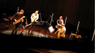 Joshua Redman, Mark Turner, Chris Cheek, Chris Potter @ Cité de la Musique, Paris 2/3