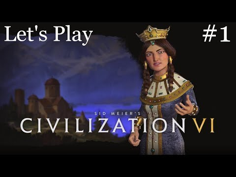 Civ 6 Georgia Rise and Fall Let's Play Part 1