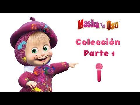 Masha y el Oso - Canta con Masha! 🎤 Colección de canciones Parte 1 🔶 (5 videos Musical!) HD