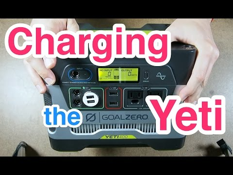 Wiring a charging relay for the Goal Zero Yeti 400