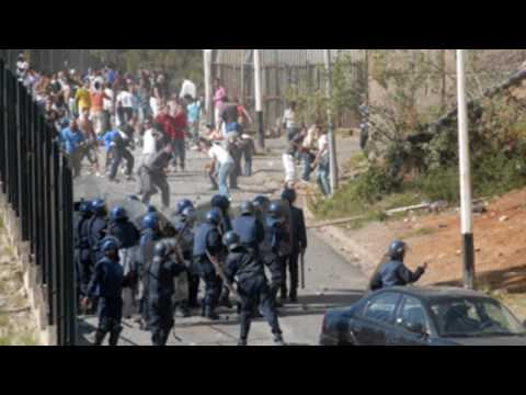 Album Photos Emeutes Diar Echems Alger Algiers Algeria