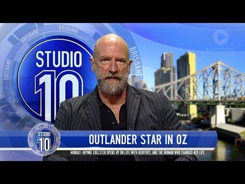 'Outlander' Star Graham McTavish In Australia  Studio 10