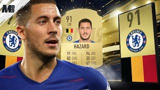 FIFA 19 HAZARD REVIEW | 91 HAZARD PLAYER REVIEW | FIFA 19 ULTIMATE TEAM