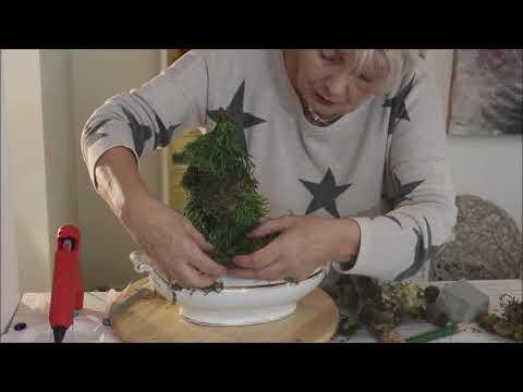 """Herbstdeko """" Einbaumwald"""" - Bärbel´s Wohn & Deko Ideen"""