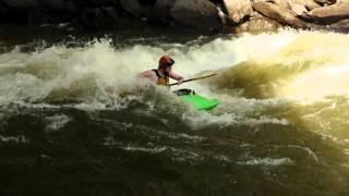 Thomas playing in Hell-Hole, Ocoee River, TN