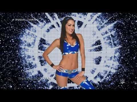 WWE Brie Bella 4th Theme Song ''Beautiful...