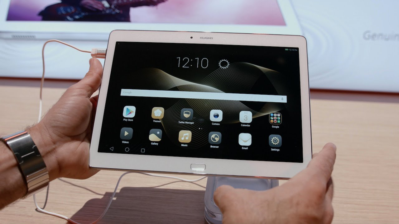 Huawei Mediapad M2 10 0 Hands On Youtube