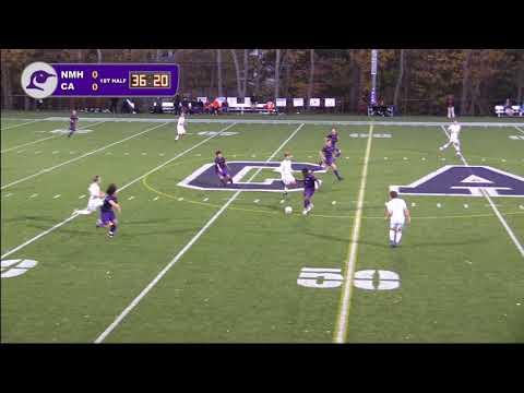 Cushing Academy - Varsity Boys Soccer vs. Northfield Mount Hermon School