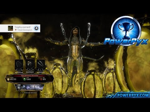 Mortal Kombat 11 - How to Play as Bug-Vorah (Total Disrespect Trophy / Achievement Guide)