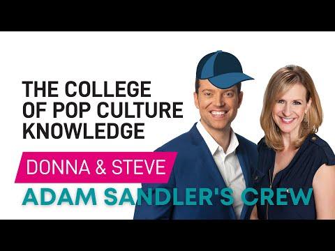 Adam Sandler's Crew & Steve Wears A Hat - College of Pop Culture Knowledge
