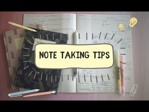 How I Take Notes In Medical School | Note Taking Tips from a Medical School Student!