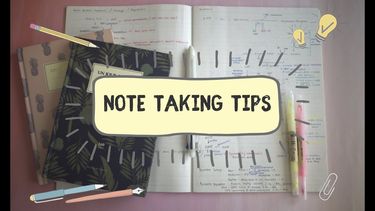 How I Take Notes In Medical School | Note Taking Tips from a Medical ...