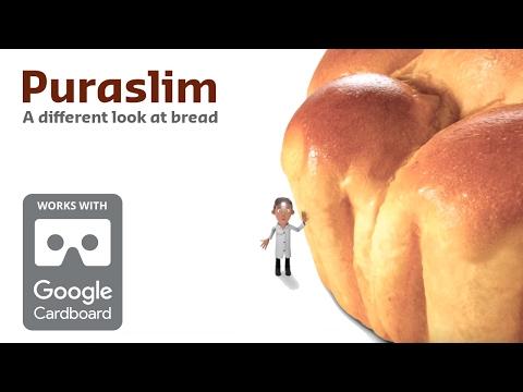Puraslim VR (360°) - A different look at bread