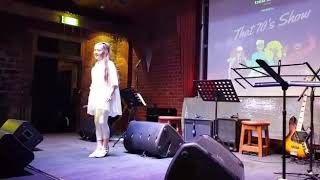 ZA Holt (10yrs) Dancing Queen - ABBA cover