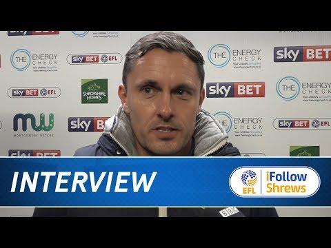 INTERVIEW | Paul Hurst post Bristol Rovers - Town TV