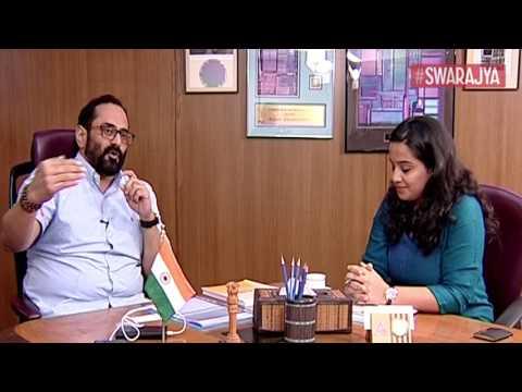 Swarajya Punctuations: Interview With Rajya Sabha MP Rajeev Chandrasekhar