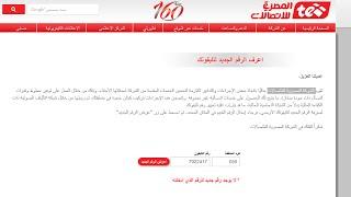 اعرف الرقم الجديد لتليفونك الارضى بعد تركيب الفايبر الشركة المصرية للاتصالات te.eg msan-changes