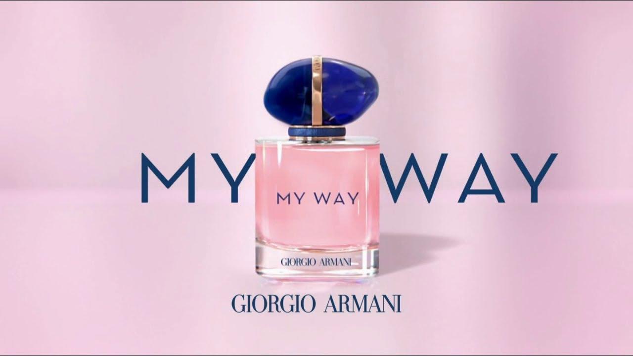 """Musique de la pub My Way Giorgio Armani """"I am what I live / je suis ce que je vis""""  2021"""