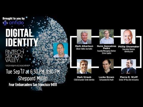Digital Identity panel #digitalidentity