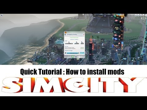 How to install Simcity 5 mods - Quick & Easy - 2013 - Extended Worker Data Mod - Skye Storme !