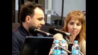 Pablo De Santis en el III Simposio de Literatura Infantil y Juvenil en el Mercosur