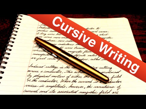 Cursive vs. Printing: Is One Better Than the Other?