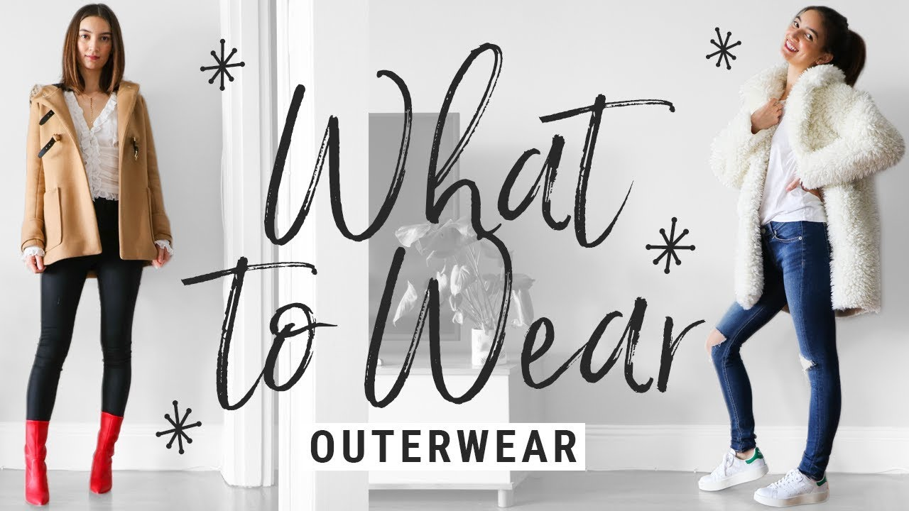 [VIDEO] - how to style COATS/JACKETS!! WHAT TO WEAR with winter outerwear!! 6