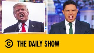 Trump Lashes Out At Greta Thunberg On Twitter | The Daily Show With Trevor Noah