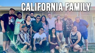 BBQ WITH MY FAMILY - CALIFORNIA VLOGS
