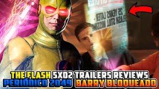 The Flash Temporada 5x02 Trailers Reviews PERIÓDICO 2049 SECRETO y BARRY ENTRENA A NORA OBSESIONADA!