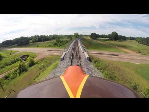 Locomotive Ride Along: The Illinois Central Mainline