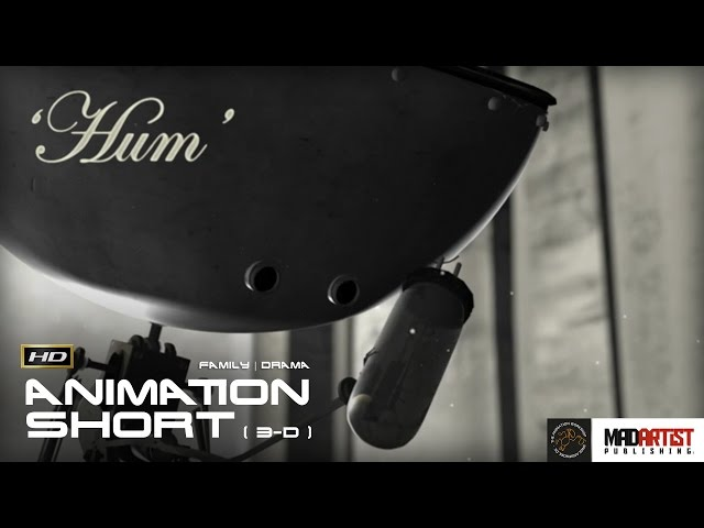 HUM (HD) An Adorable story of a robot creating a friend (3D CGI Animation by The Animation Workshop)